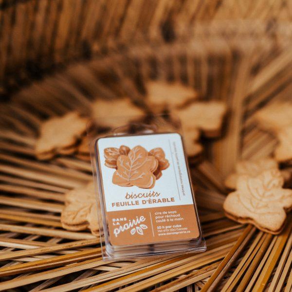 biscuits érable chandelle de soya dans la prairie